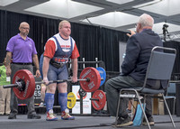 US athlete Adam Maresh at powerlifting competition