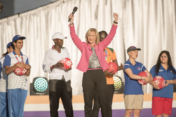 Special Olympics CEO Janet Froetscher congratulates the athletes and closes the 2015 Special Olympics World Games (1).jpg