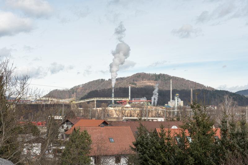 Sappi paper mill