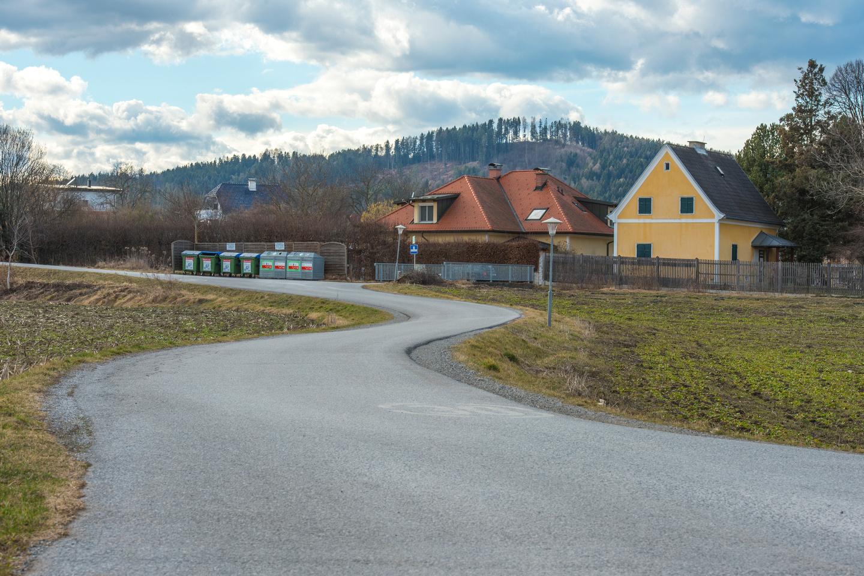 Residential street in Judendorff