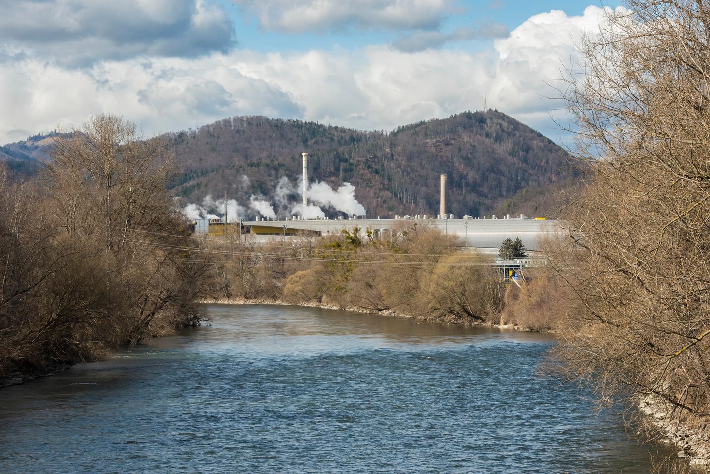 Sappi Mill in Gratkorn
